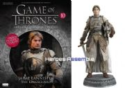 Game Of Thrones Official Collector's Models #10 Jaime Lannister Figurine & Magazine Eaglemoss